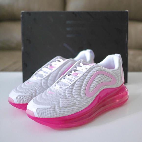 Nike Shoes Womens Air Max 720 White Pink Rise Fuchsia Poshmark